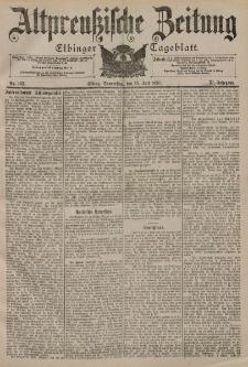 Altpreussische Zeitung, Nr. 162 Donnerstag 13 Juli 1899, 51. Jahrgang