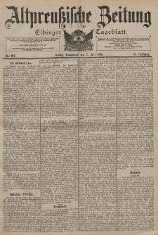 Altpreussische Zeitung, Nr. 164 Sonnabend 15 Juli 1899, 51. Jahrgang