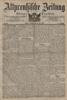 Altpreussische Zeitung, Nr. 165 Sonntag 16 Juli 1899, 51. Jahrgang