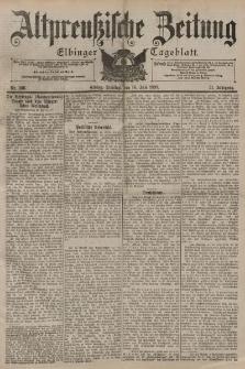 Altpreussische Zeitung, Nr. 166 Dienstag 18 Juli 1899, 51. Jahrgang