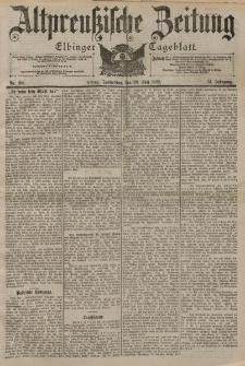 Altpreussische Zeitung, Nr. 168 Donnerstag 20 Juli 1899, 51. Jahrgang