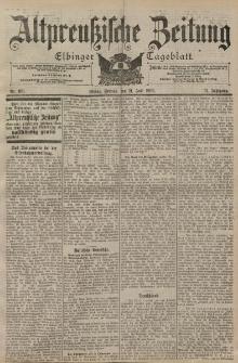 Altpreussische Zeitung, Nr. 169 Freitag 21 Juli 1899, 51. Jahrgang