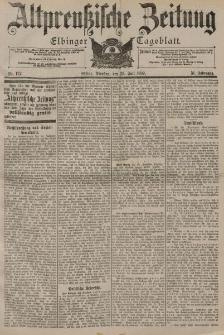 Altpreussische Zeitung, Nr. 172 Dienstag 25 Juli 1899, 51. Jahrgang