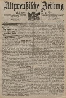 Altpreussische Zeitung, Nr. 173 Mittwoch 26 Juli 1899, 51. Jahrgang