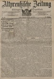Altpreussische Zeitung, Nr. 176 Sonnabend 29 Juli 1899, 51. Jahrgang