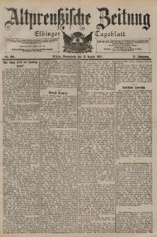 Altpreussische Zeitung, Nr. 188 Sonnabend 12 August 1899, 51. Jahrgang