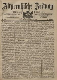 Altpreussische Zeitung, Nr. 208 Dienstag 5 September 1899, 51. Jahrgang