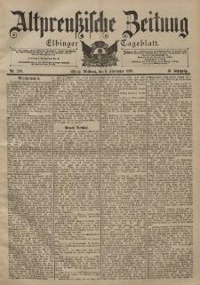 Altpreussische Zeitung, Nr. 209 Mittwoch 6 September 1899, 51. Jahrgang