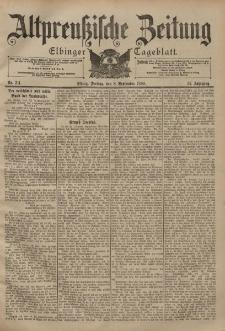 Altpreussische Zeitung, Nr. 211 Freitag 8 September 1899, 51. Jahrgang