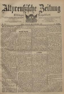Altpreussische Zeitung, Nr. 212 Sonnabend 9 September 1899, 51. Jahrgang