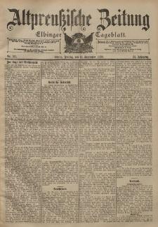 Altpreussische Zeitung, Nr. 217 Freitag 15 September 1899, 51. Jahrgang