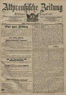 Altpreussische Zeitung, Nr. 219 Sonntag 17 September 1899, 51. Jahrgang