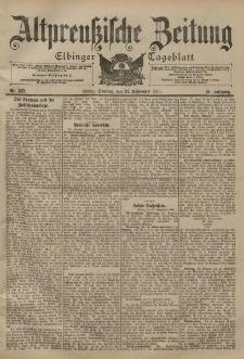 Altpreussische Zeitung, Nr. 225 Sonntag 24 September 1899, 51. Jahrgang