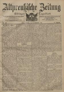 Altpreussische Zeitung, Nr. 226 Dienstag 26 September 1899, 51. Jahrgang