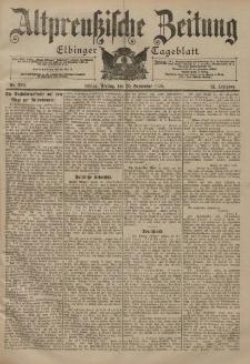 Altpreussische Zeitung, Nr. 229 Freitag 29 September 1899, 51. Jahrgang