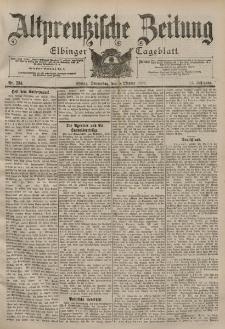 Altpreussische Zeitung, Nr. 234 Donnerstag 5 Oktober 1899, 51. Jahrgang