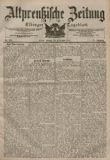 Altpreussische Zeitung, Nr. 235 Freitag 6 Oktober 1899, 51. Jahrgang