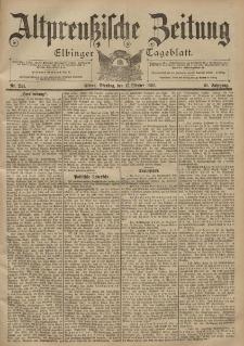 Altpreussische Zeitung, Nr. 244 Dienstag 17 Oktober 1899, 51. Jahrgang
