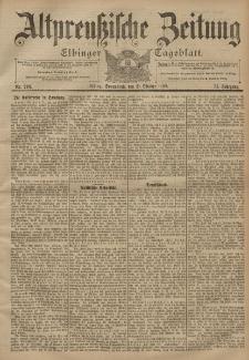 Altpreussische Zeitung, Nr. 248 Sonnabend 21 Oktober 1899, 51. Jahrgang