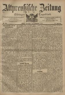 Altpreussische Zeitung, Nr. 264 Donnerstag 9 November 1899, 51. Jahrgang