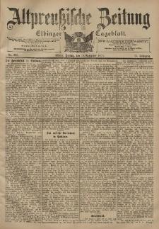 Altpreussische Zeitung, Nr. 265 Freitag 10 November 1899, 51. Jahrgang