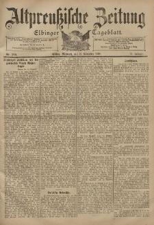 Altpreussische Zeitung, Nr. 269 Mittwoch 15 November 1899, 51. Jahrgang