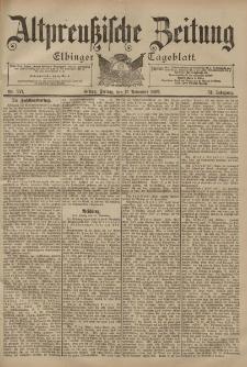 Altpreussische Zeitung, Nr. 271 Freitag 17 November 1899, 51. Jahrgang