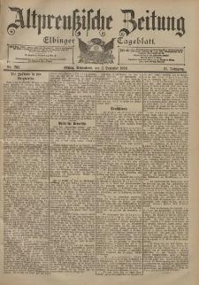 Altpreussische Zeitung, Nr. 283 Sonnabend 2 Dezember 1899, 51. Jahrgang