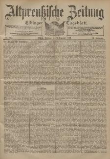 Altpreussische Zeitung, Nr. 284 Sonntag 3 Dezember 1899, 51. Jahrgang