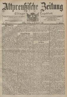 Altpreussische Zeitung, Nr. 291 Dienstag 12 Dezember 1899, 51. Jahrgang