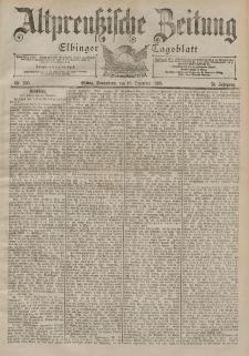 Altpreussische Zeitung, Nr. 295 Sonnabend 16 Dezember 1899, 51. Jahrgang