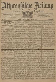 Altpreussische Zeitung, Nr. 299 Donnerstag 21 Dezember 1899, 51. Jahrgang