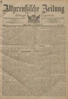 Altpreussische Zeitung, Nr. 9 Freitag 12 Januar 1900, 52. Jahrgang