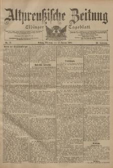 Altpreussische Zeitung, Nr. 13 Mittwoch 17 Januar 1900, 52. Jahrgang