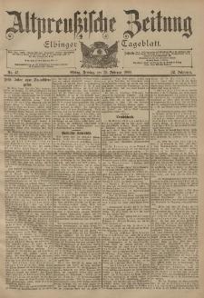 Altpreussische Zeitung, Nr. 45 Freitag 23 Februar 1900, 52. Jahrgang
