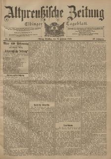 Altpreussische Zeitung, Nr. 48 Dienstag 27 Februar 1900, 52. Jahrgang