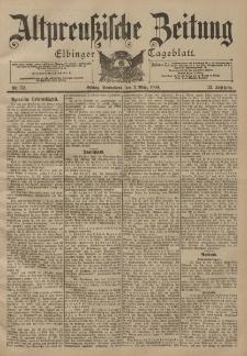 Altpreussische Zeitung, Nr. 52 Sonnabend 3 März 1900, 52. Jahrgang