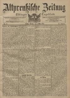 Altpreussische Zeitung, Nr. 54 Dienstag 6 März 1900, 52. Jahrgang