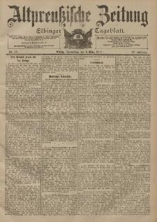 Altpreussische Zeitung, Nr. 56 Donnerstag 8 März 1900, 52. Jahrgang