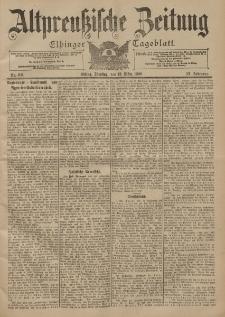 Altpreussische Zeitung, Nr. 60 Dienstag 13 März 1900, 52. Jahrgang