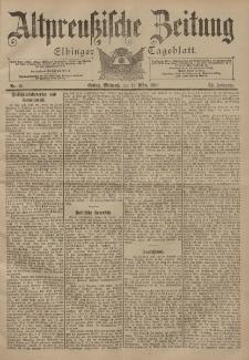 Altpreussische Zeitung, Nr. 61 Mittwoch 14 März 1900, 52. Jahrgang