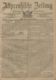 Altpreussische Zeitung, Nr. 65 Sonntag 18 März 1900, 52. Jahrgang