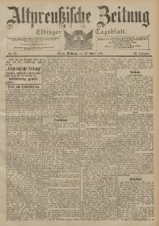 Altpreussische Zeitung, Nr. 95 Mittwoch 25 April 1900, 52. Jahrgang