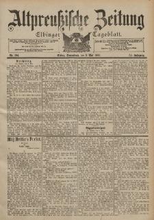 Altpreussische Zeitung, Nr. 104 Sonnabend 5 Mai 1900, 52. Jahrgang