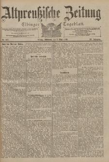 Altpreussische Zeitung, Nr. 107 Mittwoch 9 Mai 1900, 52. Jahrgang