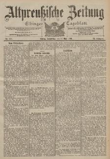 Altpreussische Zeitung, Nr. 108 Donnerstag 10 Mai 1900, 52. Jahrgang