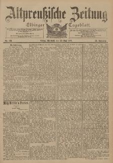 Altpreussische Zeitung, Nr. 119 Mittwoch 23 Mai 1900, 52. Jahrgang