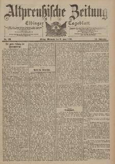 Altpreussische Zeitung, Nr. 129 Mittwoch 6 Juni 1900, 52. Jahrgang