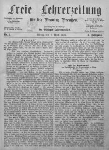 Freie Lehrerzeitung 1876