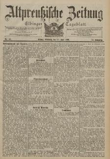 Altpreussische Zeitung, Nr. 141 Mittwoch 20 Juni 1900, 52. Jahrgang